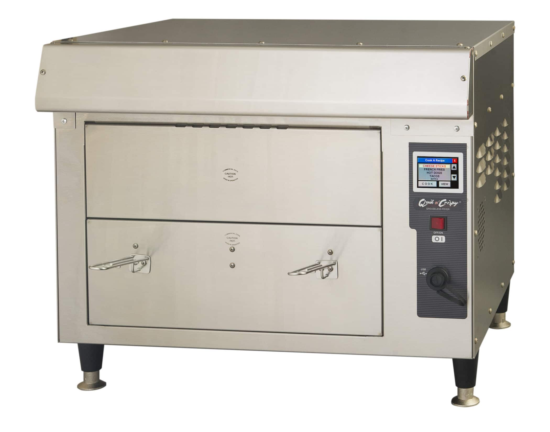 Color Led Display Ventless Fryers