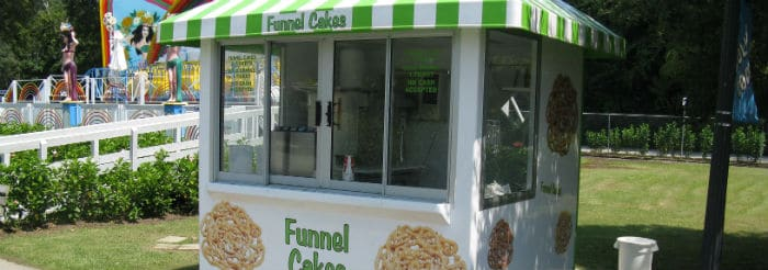 Dixie Landin Funnel Cakes site